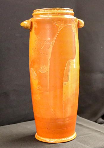 Tall Shino Vase