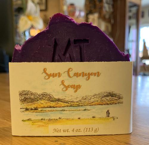 Sun Canyon Soap Huckleberry