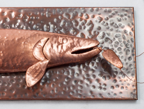 Hand Hammered Copper Fish