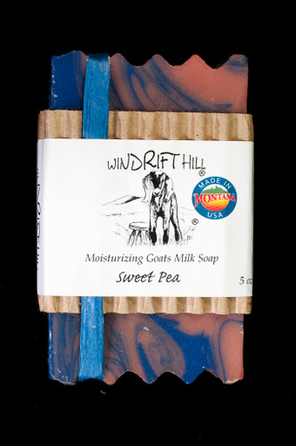 Moisturizing Goats Milk Soap - 5 oz. - Sweet Pea Scent