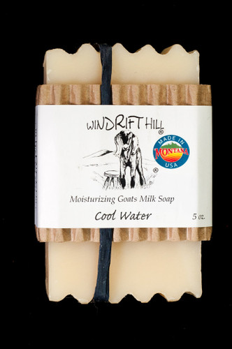 Moisturizing Goats Milk Soap - 5 oz. - Cool Water Scent