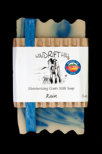 Moisturizing Goats Milk Soap - 5 oz. - Rain Scent