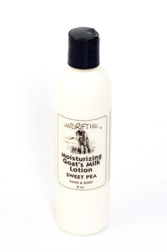 Moisturizing Lotion - 8 oz. - Sweet Pea Scent