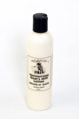 Moisturizing Lotion - 8 oz. - Goats n' Oats Scent