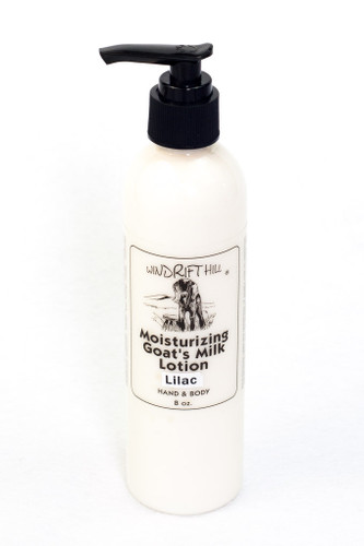 Moisturizing Lotion - 8 oz. - Lilac Scent