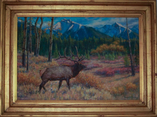 """Elk"" by Bruce D. Pierce"