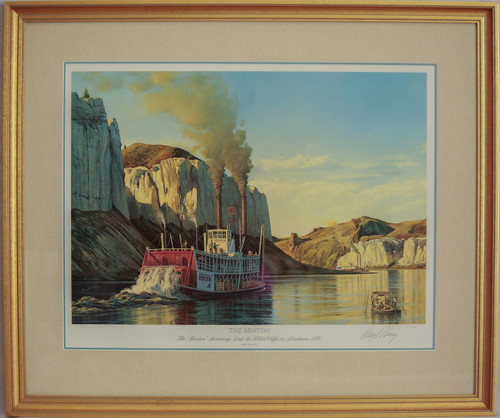 """""""The Benton"""" print by Gary R. Lucy"""