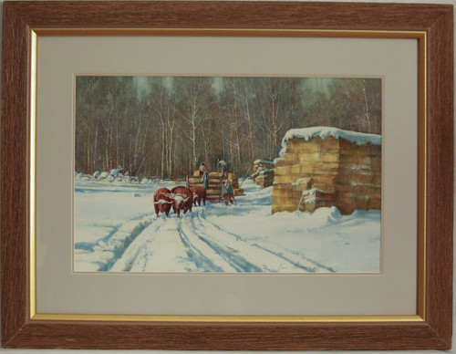 """Teamwork"" watercolor by Jean Halverson"