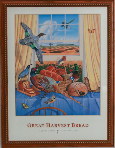 "Great Harvest Bread ""Harvest Time"" print by Monte Dolack"