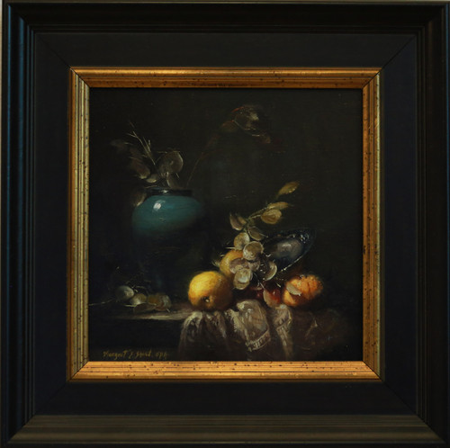 """Still Life"" oil by Margaret E. Short"