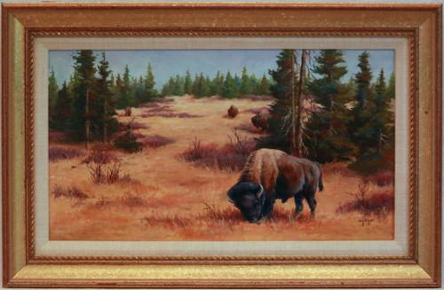 """""""Where the Buffalo Roam"""" by Mimi Grant"""