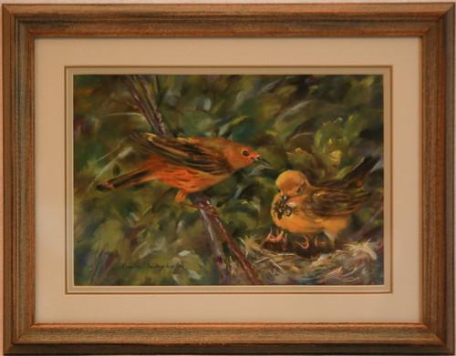 """""""Birds in Nest"""" by T. Sederholm"""