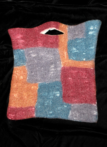 Felted Wool Tote Bag