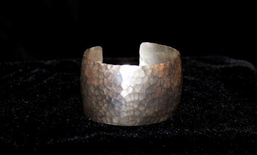 Hammered Sterling Silver Cuff