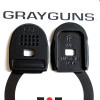 "Grayguns/TF ""Hard Duty"" basepad for Sig 320 - 3-pack"