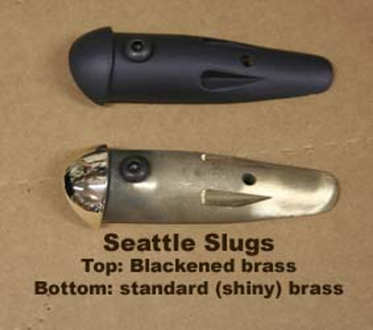 Glock - SEATTLE SLUG MAG GUIDE 19/23: GEN 3 BLACKENED BRASS
