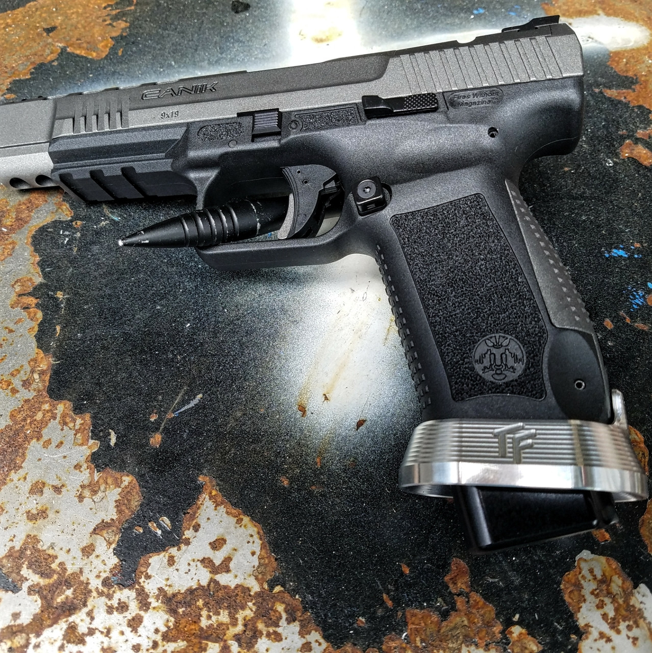 Canik TP9 SF Magwell - Aluminum