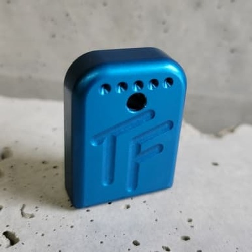 Competition Basepad for Glock 9/.40/.357 - Blue