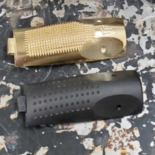 Canik Elite Backstrap Grip Panel - Brass