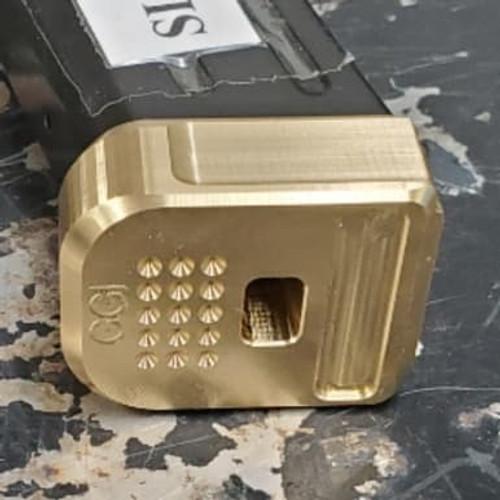 Gray Guns/TF Sig 320 Competition Basepad - Brass