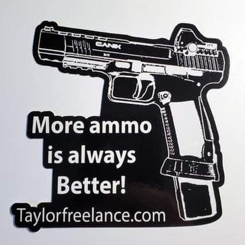 TF Vinyl Cling featuring Mo Ammo quote