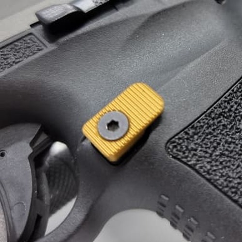 Canik - Mag Release - Carry - Gold