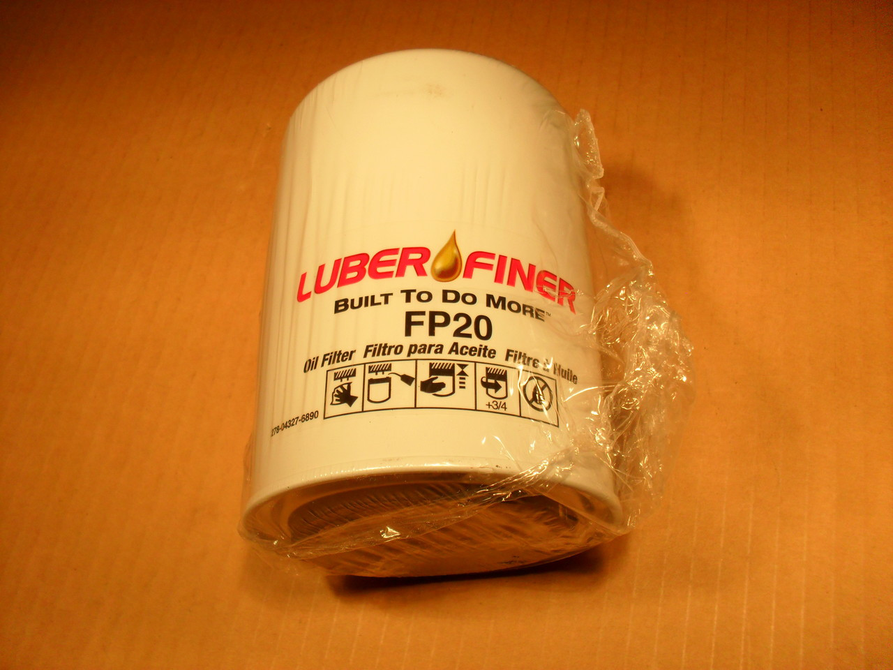 Oil Filter for John Deere 350, 350B, 350C, 350D, 400G, 450, 450B, 450C,  450D, 450E, 450E-LT, 450G, 550, 550A, 550B, 550C, 550G, 650G, 750, 750B and