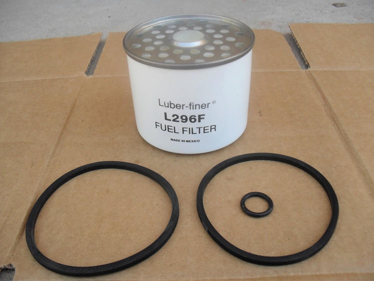 Fuel Filter for Ditchwitch R100, R65 Trencher, 500625, 83937061, V34827, Ford