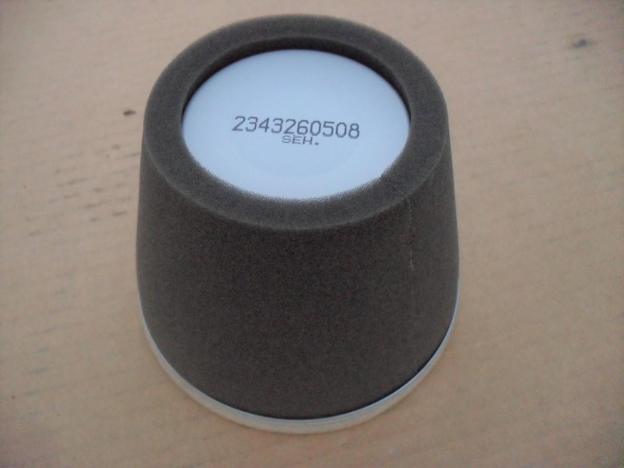 Air Filter for Subaru Robin EY28, EH25-2, EH30, EH34, 01404096, 2343260307, 2343260407, 2343260417, 2343260508, 2343260707, 2343600407, 0140-4096, 234-32603-07, 234-32604-07, 234-32604-17, 234-32605-08, 234-32607-07, 234-36004-07