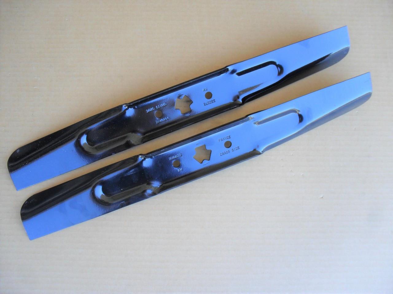 Hi Lift Blades for Craftsman and Cub Cadet RZT42, 42