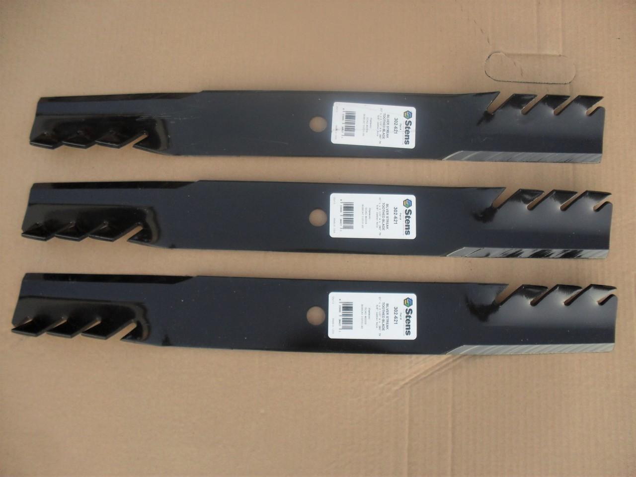 6 Stens 302-621 Toothed Blades Fits Husqvarna 539101733 539102093 Lastec P-246