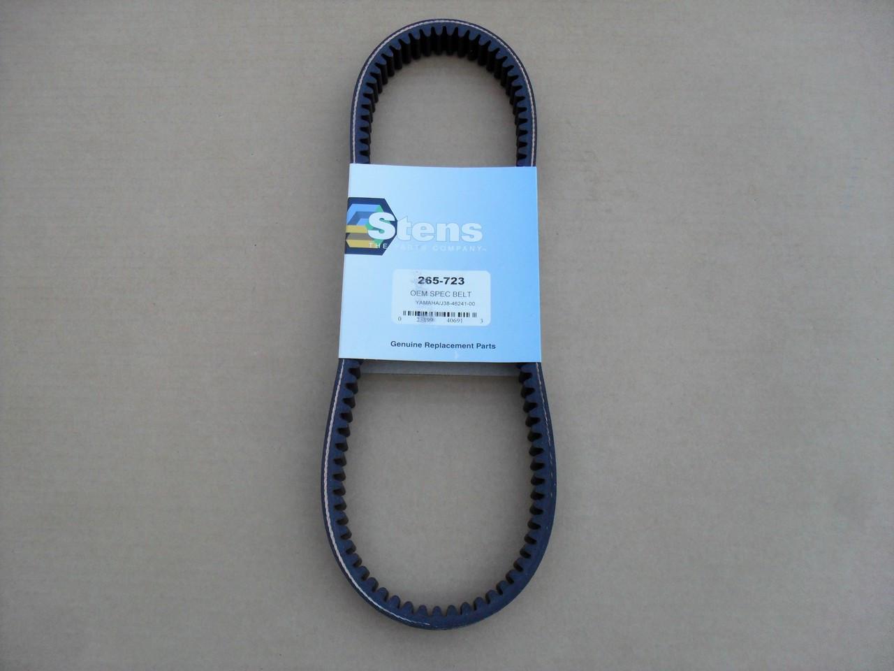 Drive Belt for Yamaha G2, G5, G8, G9, G11, G14, G16, G20, G21, G22, G23,  G27, G28, J384624100, J55G624100, J38-46241-00, J55-G6241-00 golf cart,  Made