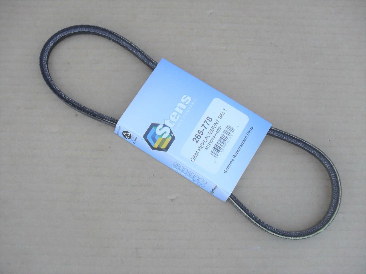 8TEN PTO Belt Troy Bilt Super Bronco Cub Cadet LT1018 1170 954-0497 754-0497