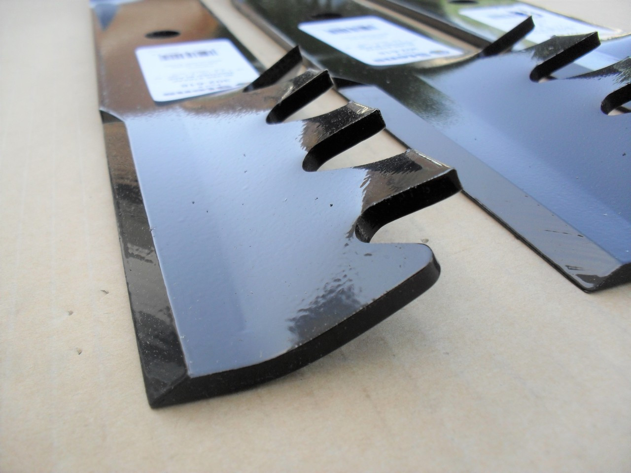 """6 Pack Toothed Mulching Blades for Ariens 00273100//03399704//04916400 52/"""" deck"""