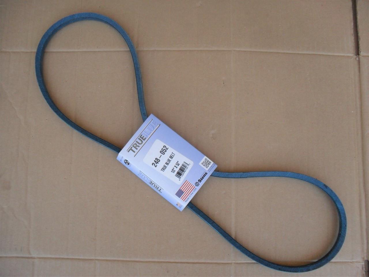Belt for AYP, Poulan PPRT55A Roto Tiller 132801, 532132801, 5417J, 7445J, Made in USA, Kevlar Cord, Oil and Heat Resistant