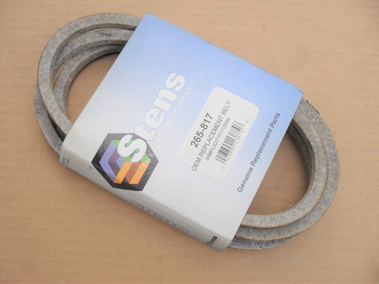 SIMPLICITY MANUFACTURING 156231 Replacement Belt