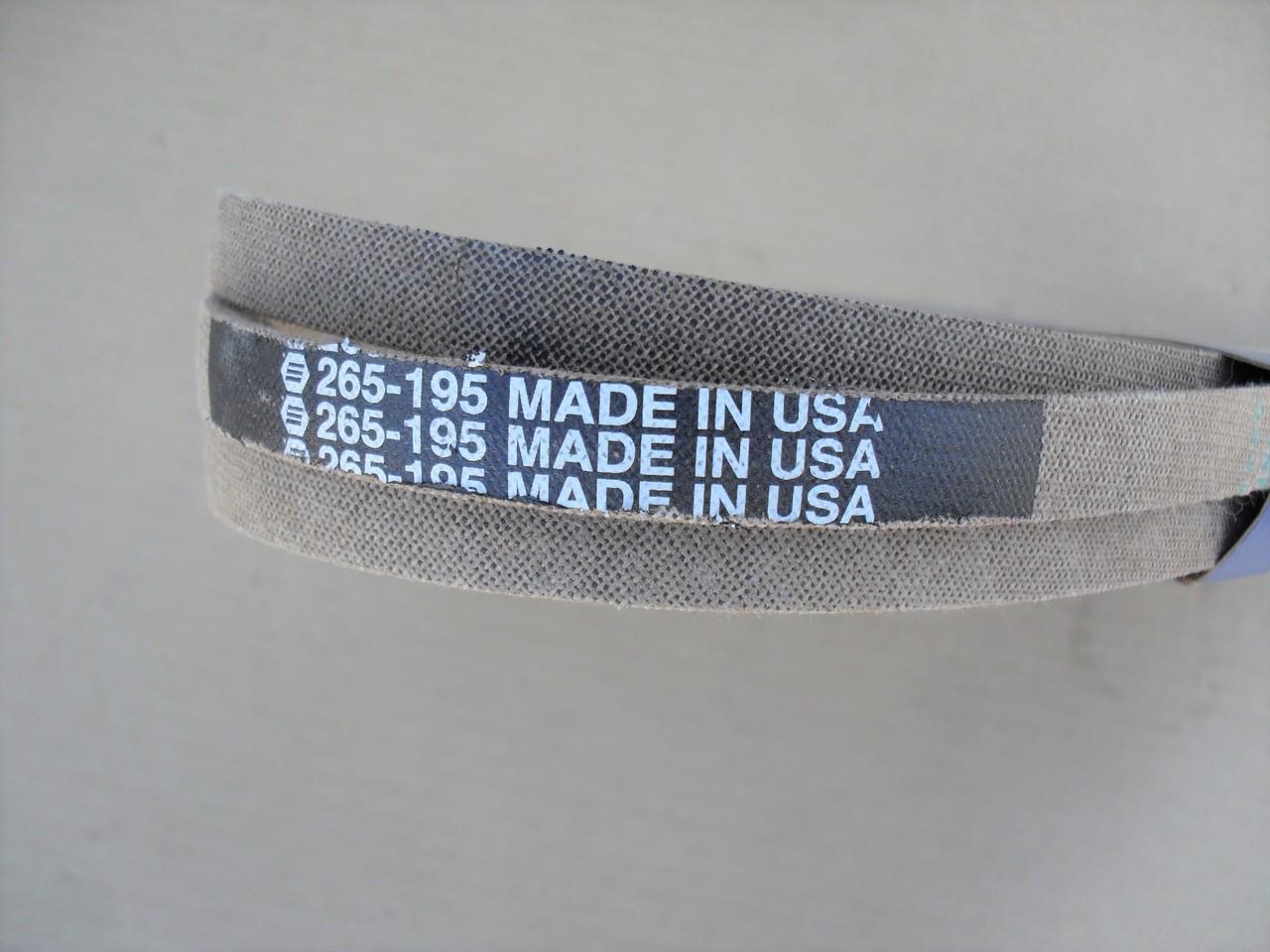 Deck Belt for Toro LX420, LX423, LX425, LX426, LX427, 1125800, 112-5800
