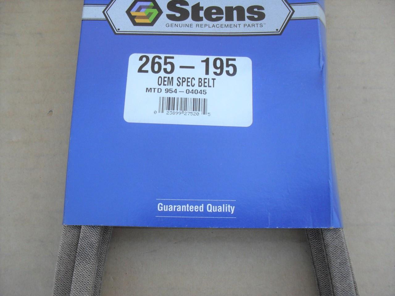 Deck Belt for Toro LX420, LX423, LX425, LX426, LX427, 1125800, 112-5800, Made In USA