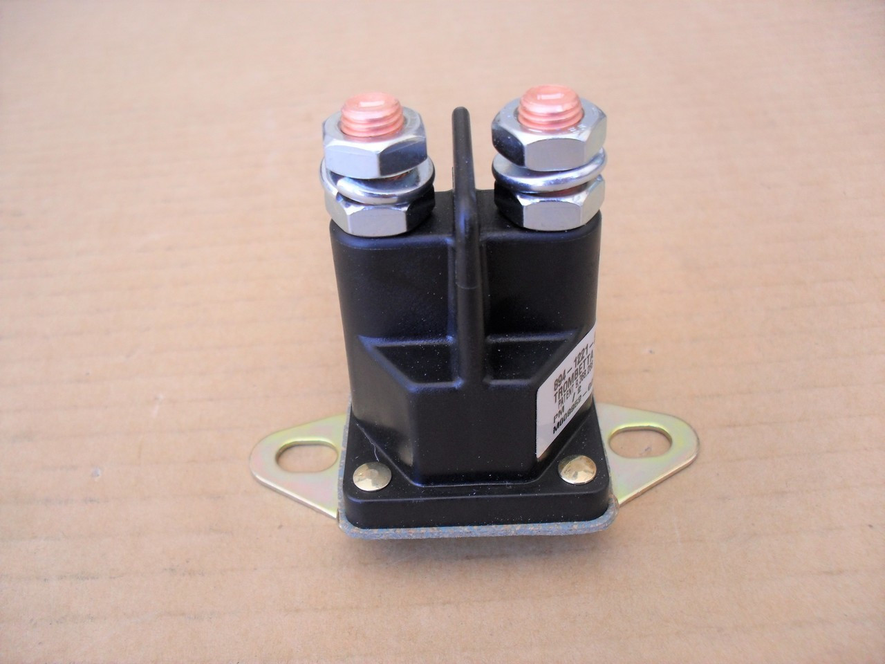 Everest Parts Supplies New Starter Solenoid Compatible with Simplicity OEM 1671993 1686981YP 1685290 1686981