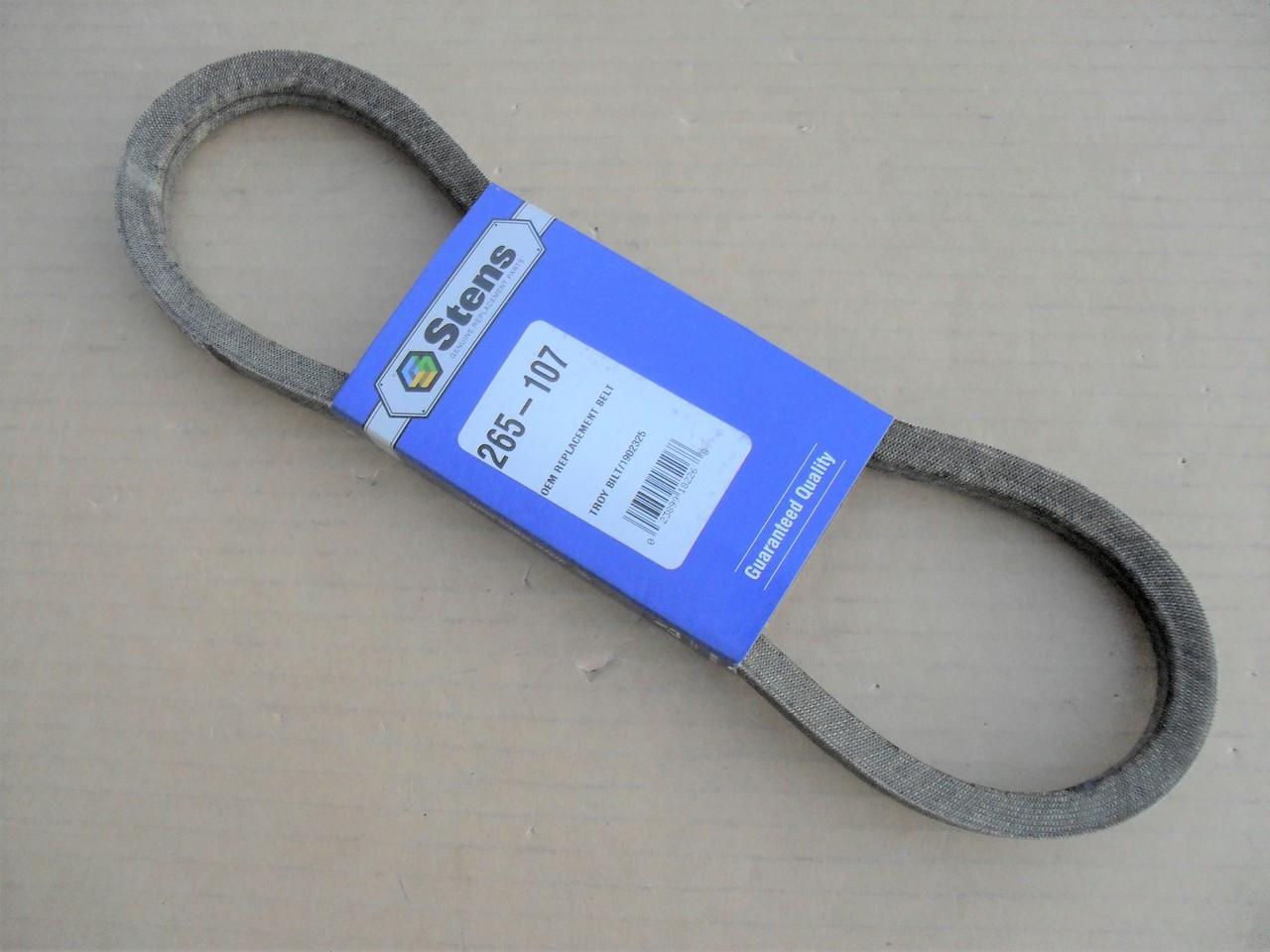 Drive Belt for Troy Bilt Super Tomahawk II, Brush Wood Chipper Shredder, 1902325, 97133, W5L290, W5L290SPL, Made In USA