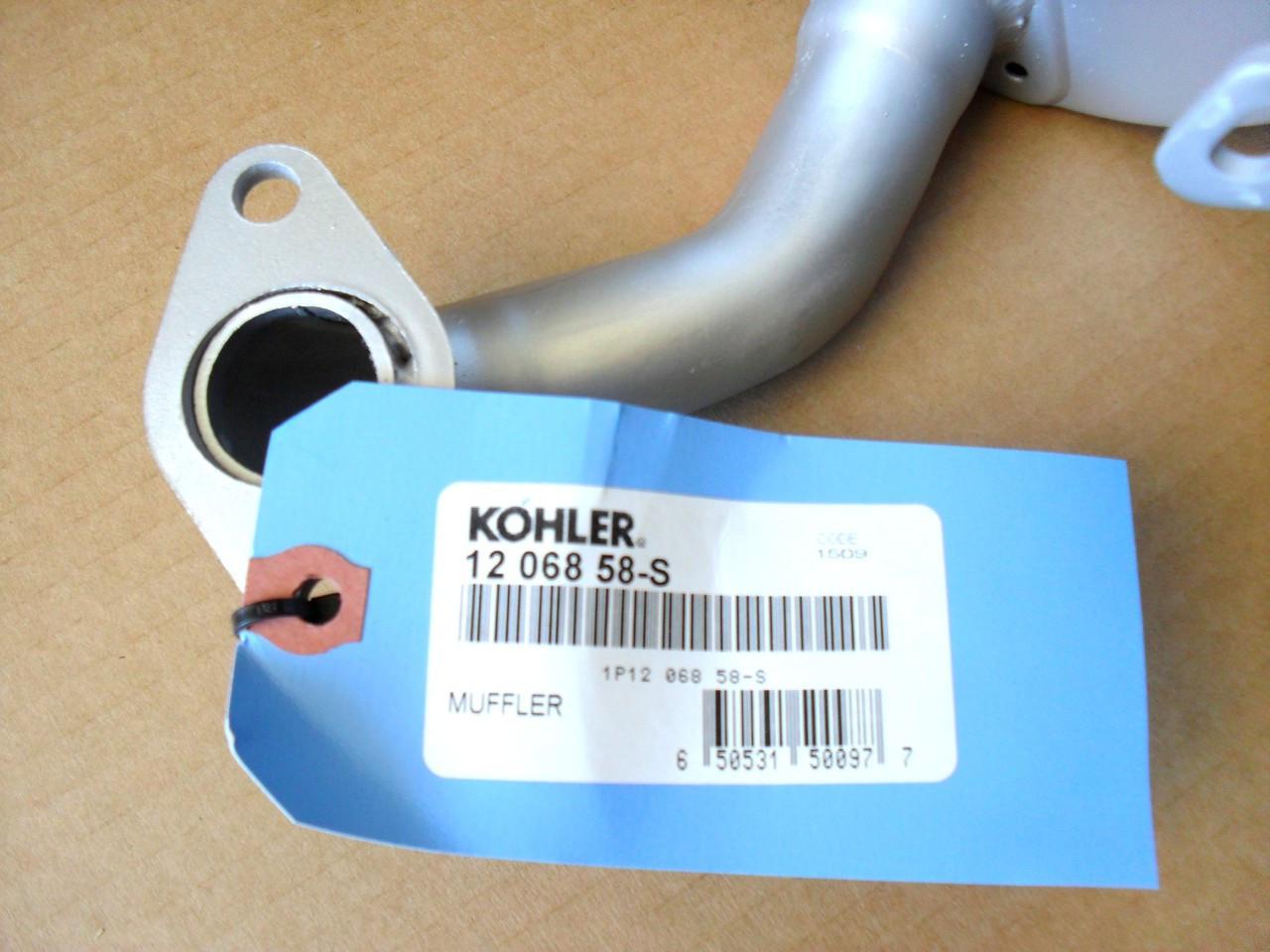 Kohler 12 068 58-S MUFFLER