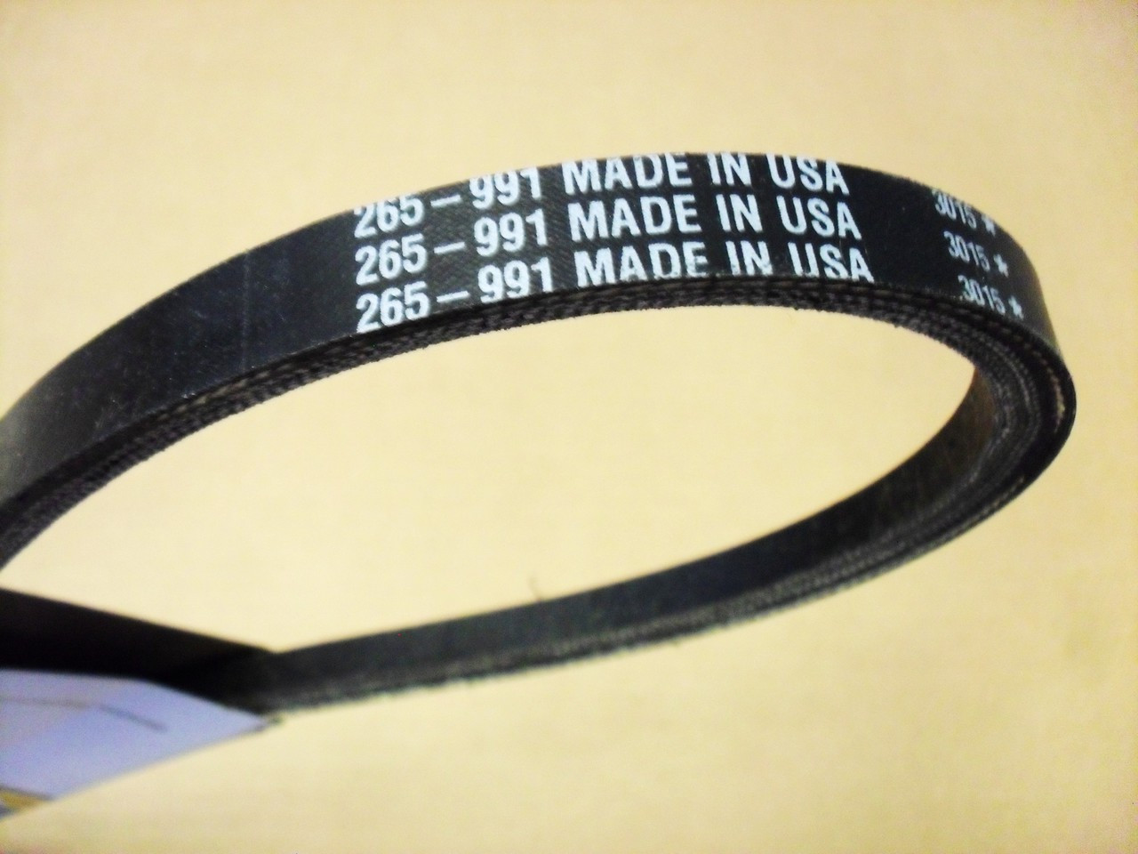 Drive Belt for Bluebird PR18, PR22, S22, 100439, 539100439 Blue Bird, Made In USA