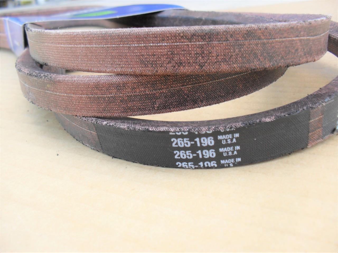 "Deck Belt for Toro GT2100 GT2200 LX500 50"" Cut 1120332, 112-0332"
