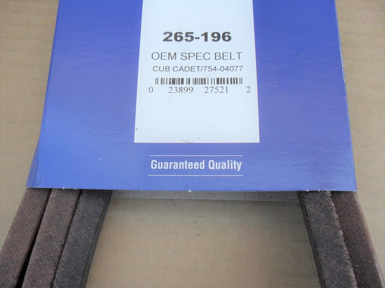 "Deck Belt for Toro GT2100 GT2200 LX500 50"" Cut 1120332, 112-0332 Made In USA"