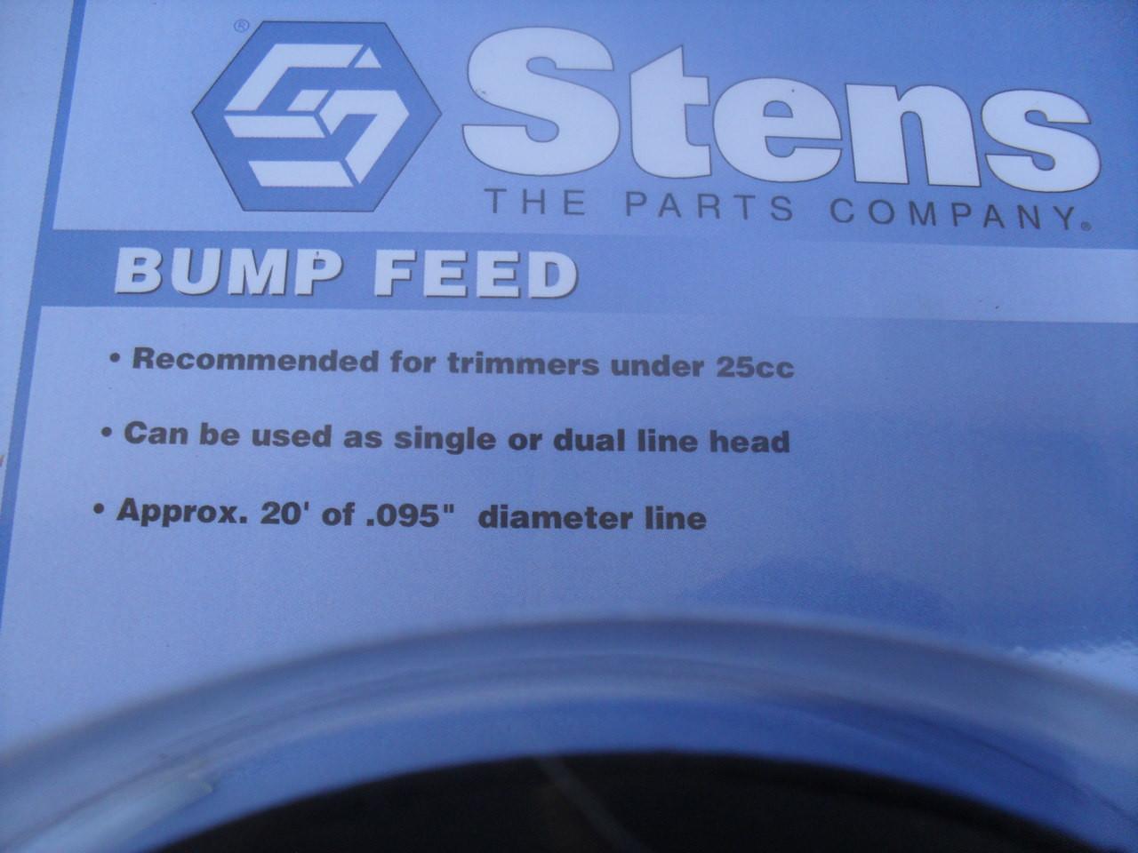 Bump Feed Head for MCculloch eb Series I, ISL, ISX, II, IISL, IISX