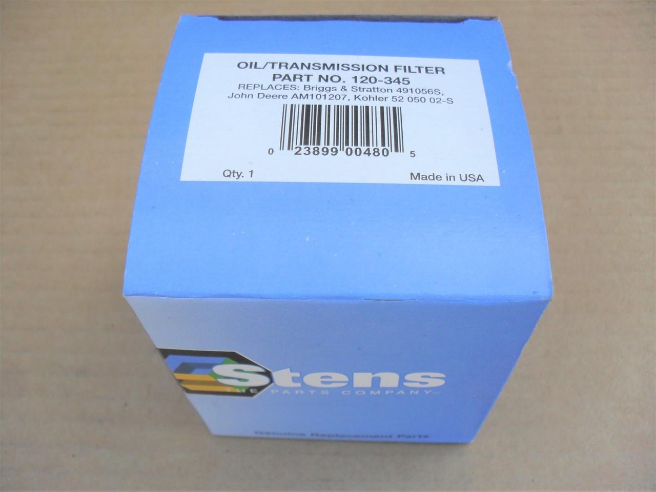 Oil Filter for Bobcat Skid Steer 440B, 450, 632, 642, 722, 732, 742,  6513601, 6652366, Made in USA