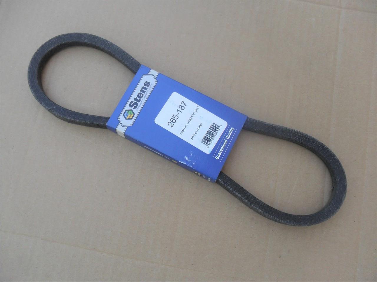 D/&D PowerDrive 3911575 White Replacement Belt