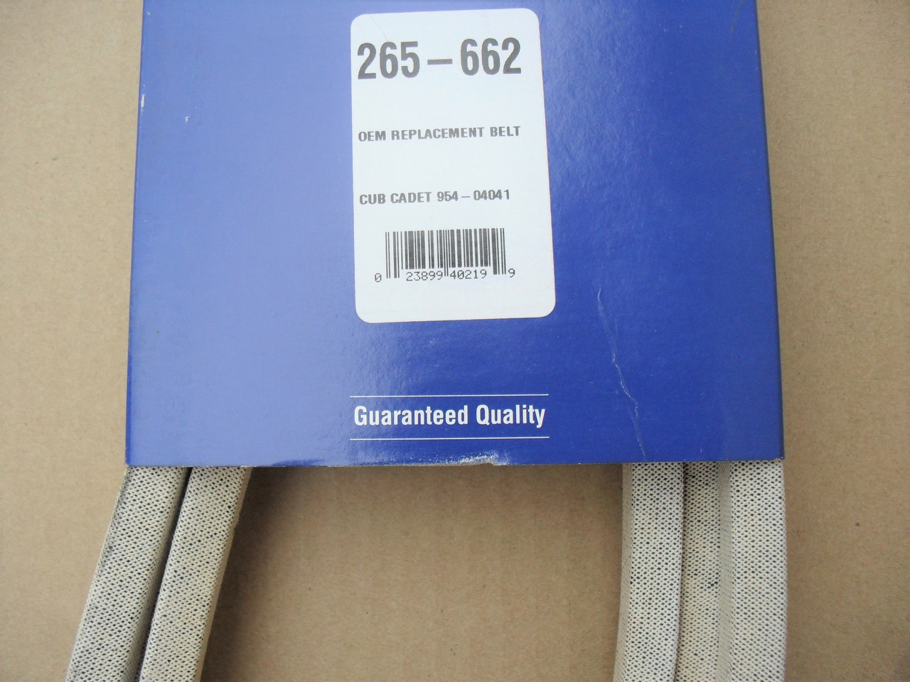 Deck Drive Belt for Cub Cadet GT2542, GT2544, 754-04041, 954-04041, Made In  USA