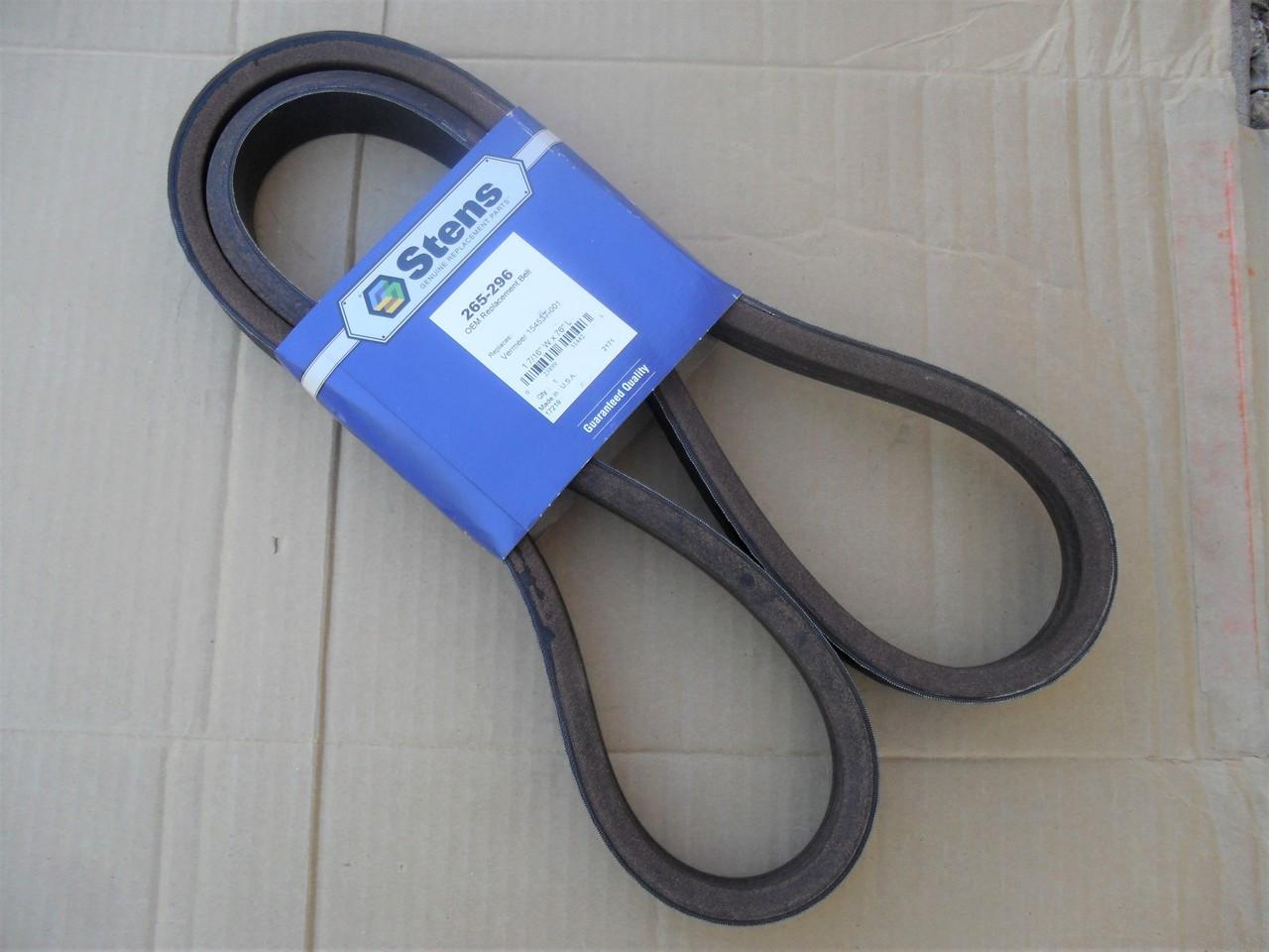 Drive Belt for Vermeer BC600XL Chipper Shredder 154537001, 154537-001, Made  In USA