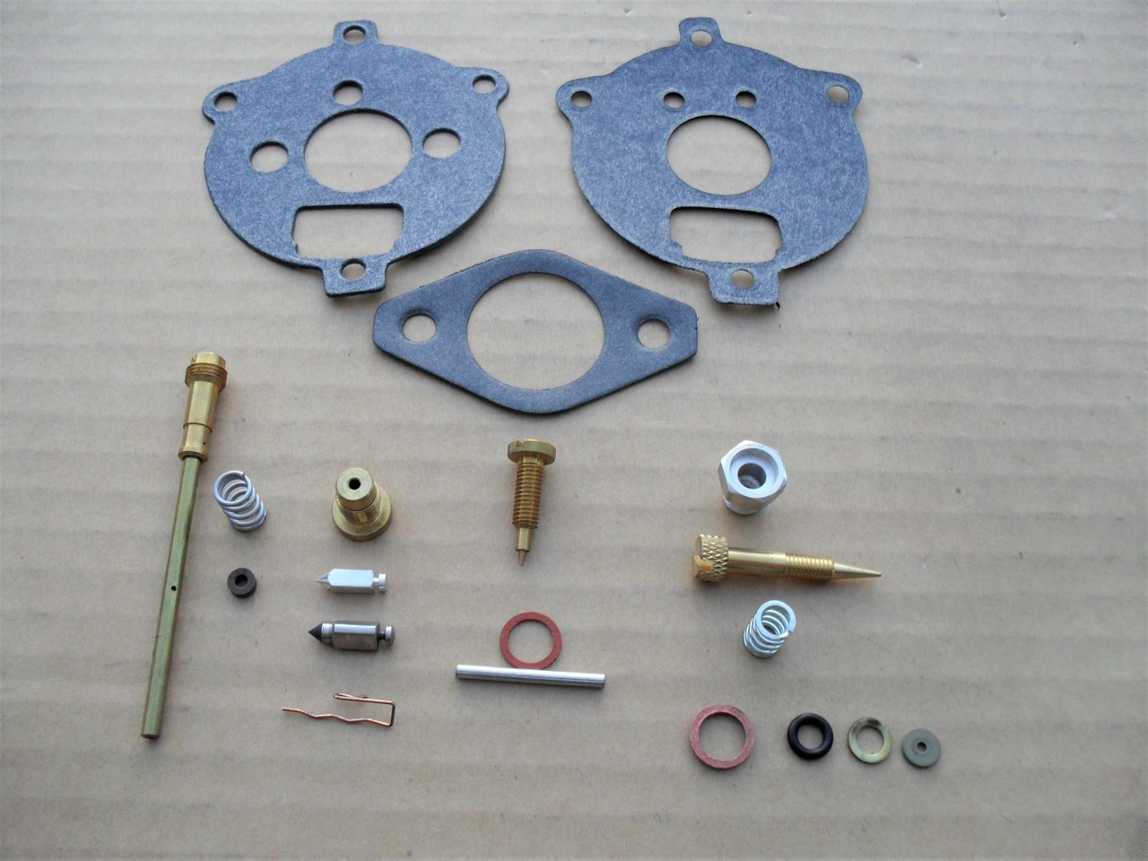 Carburetor Rebuild Kit for Briggs and Stratton 7 HP, 8 HP, 291763, 295938,  394693, Made In USA, repair overhaul &